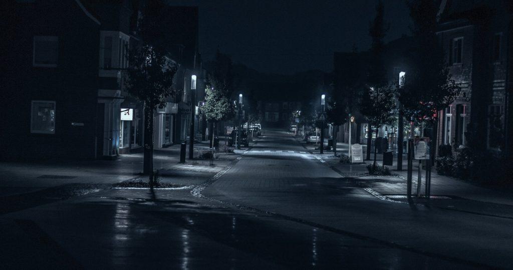 Letni cas v zime a ranni tma